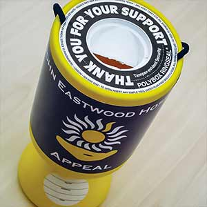 Charity Donation Tin